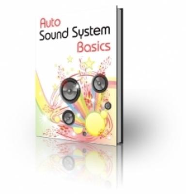 Product picture Auto Sound System Basics (PLR)