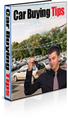 Product picture Car Buying Tips with PLR