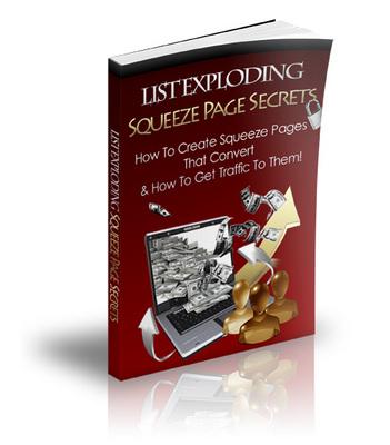 Product picture List Exploding Squeeze Page Secrets (PLR)